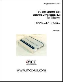 I2C Bus Monitor Plus SDK User's Guide