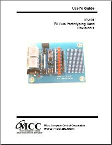 I2C Bus Prototype Board User's Guide
