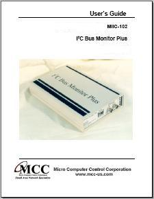 I2C Bus Monitor Plus User's Guide