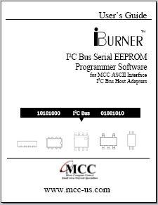 iBurner I2C Bus EEPROM Programmer Software